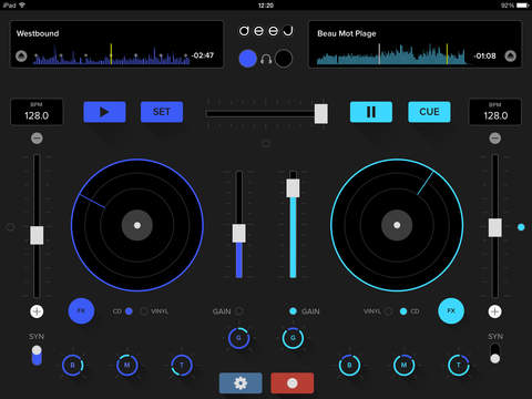 Screenshots for deej - DJ turntable. Mix, record & share your music