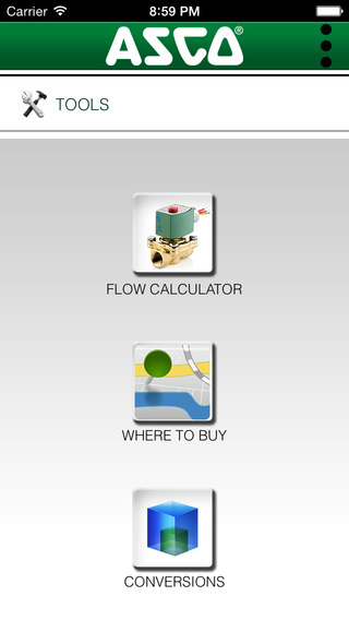 ASCO Flow Calculator