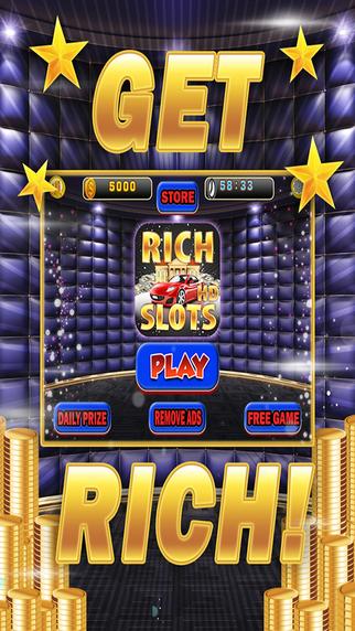 Rich Slots HD - Casino Slot Machine Game