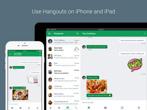 Hangouts - free messaging, video, and voice Screenshot 4