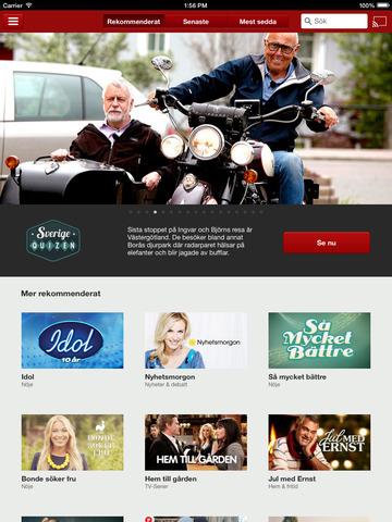 TV4 Play för iPad