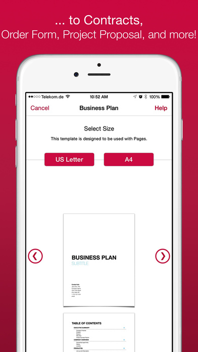 Business Templates For Pages And Numbers