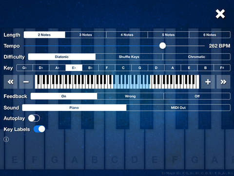 Melody Ear Training iPad Screenshot 3