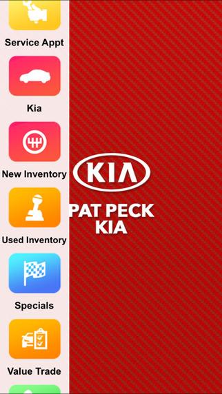 Pat Peck Kia Dealer App