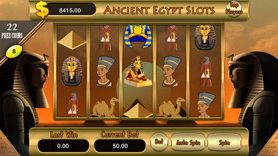 Ancient Pharaoh Egypt Slots