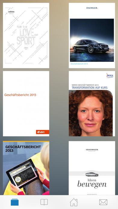 Report Investor - Der Kiosk für Geschäftsberichte und Unternehmenskommunikation iPhone Screenshot 2
