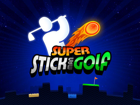 Super Stickman Golf iPad Screenshot 1