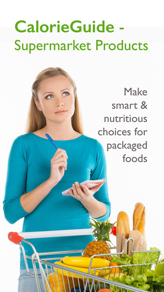 Supermarket Calorie Calculator Food Nutrition Guide for Grocery Shopping