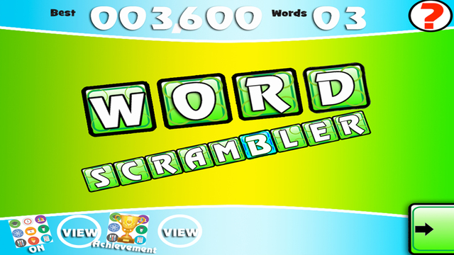 Word Scrambler Free - Best Scramble Letter Mix Game to Learn English Vocabulary Everyday