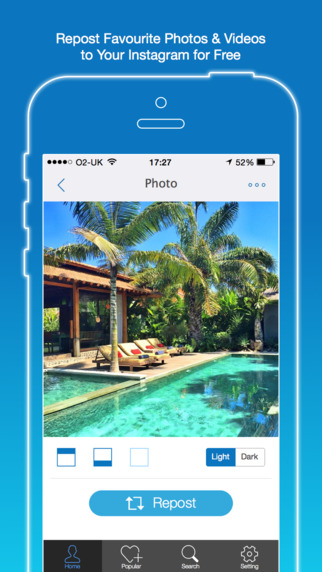Fast Repost for Instagram - Regram Share Instagram Videos and Photos