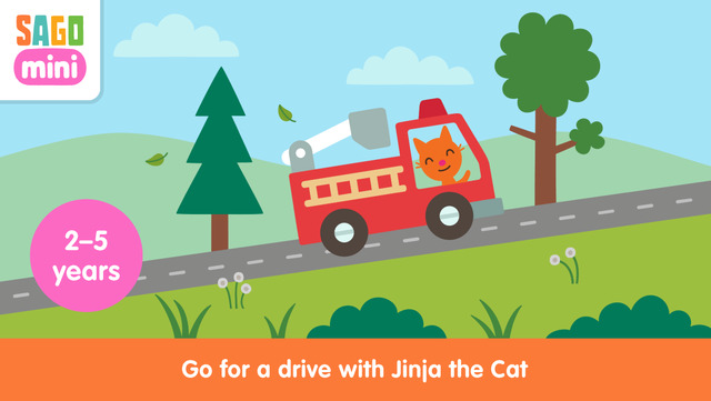"FREE sale: ""Sago Mini Road Trip"" - Go for a fun-filled drive with Jinja the cat"