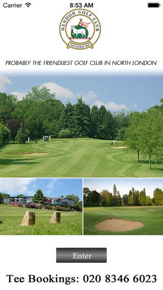 Hendon Golf GPS
