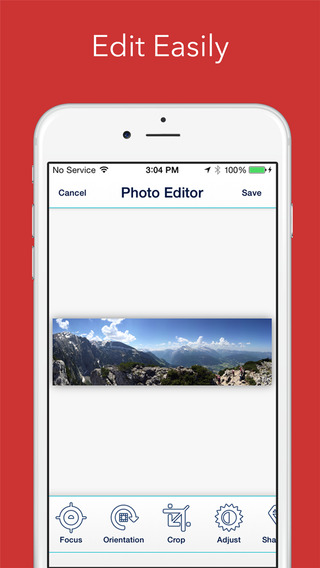 《自动全景 圆圈相机:Cycloramic for iPhone 6 (Not the 6+) [iOS]》