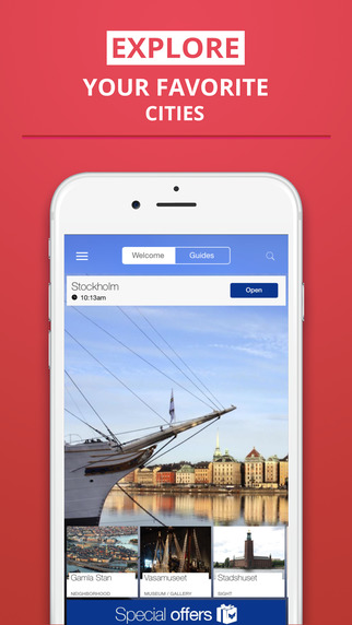 Stockholm - your travel guide with offline maps from tripwolf guide for sights restaurants and hotel