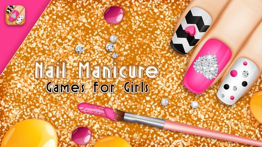 Ногти онлайн игры девочек