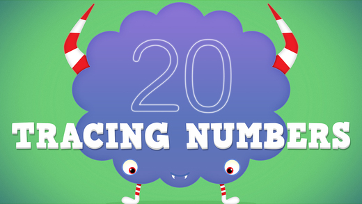 Monster Doodle - Number Tracing and Intro to Math