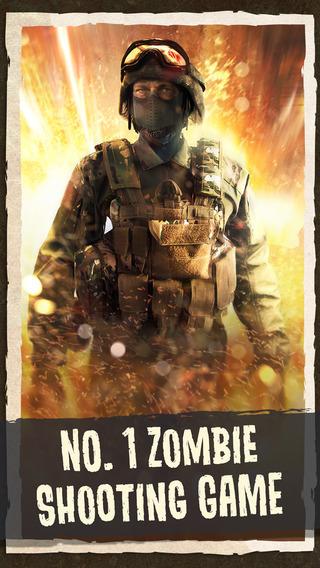 Zombie Combat: Modern Trigger Duty FPS - Shooter 3D