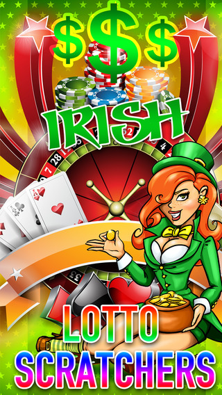 Irish Scratch Tickets - Win the Gold Lottery Treas