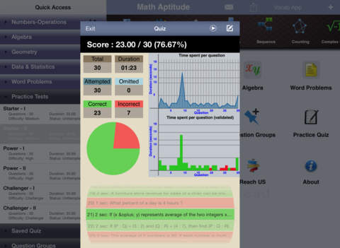 GMAT Math Aptitude iPad Screenshot 5