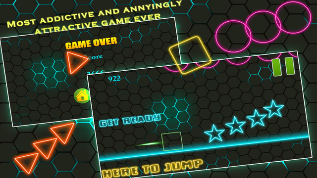 Bright Square Up Pro - the game