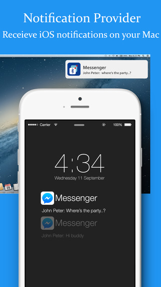 BLE Notification Provider - Receive iOS notification on Mac