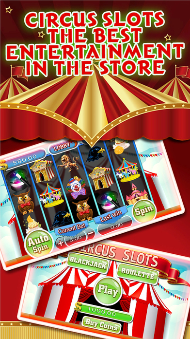 A A+ Slots in Circus - Play with exotic circus animals and Win Ace King Golden Bonanza-0