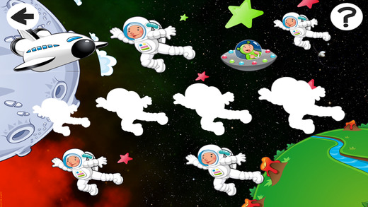 Cool Space Run-ner Robot-s and Star-s In Crazy Kid-s Game-s