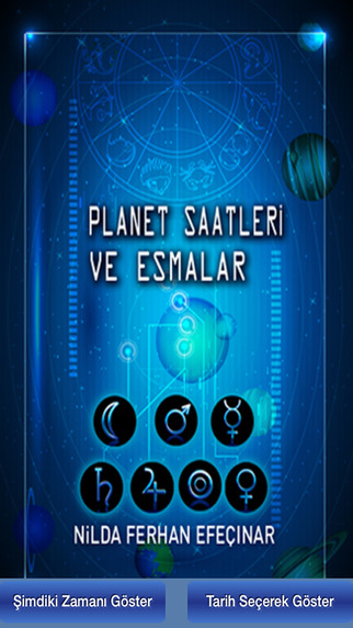 Planet Saatleri ve Esmalar