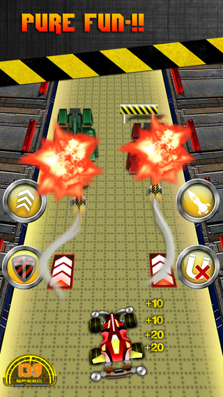 Angry Drag Racers - Super Weapon Battle Rush