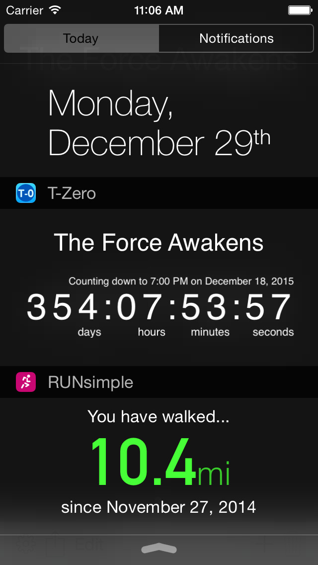 how to set up a countdown on iphone 6