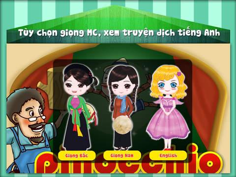 Chú Bé Người Gỗ Pinocchio HD