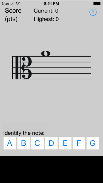 Tenor Tutor iPhone Screenshot 1