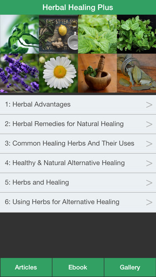 Herbal Healing Plus - A Guide To Treat Your Illnesses With Herbs