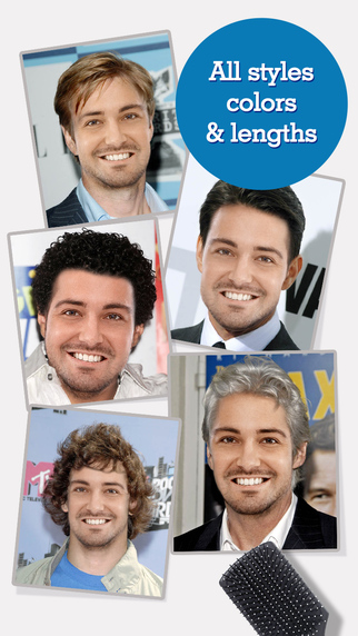 FACEinHOLE Hairstyles for Men - How do you want to look today