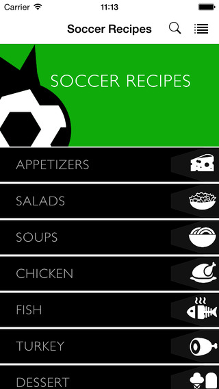 Soccer Recipes