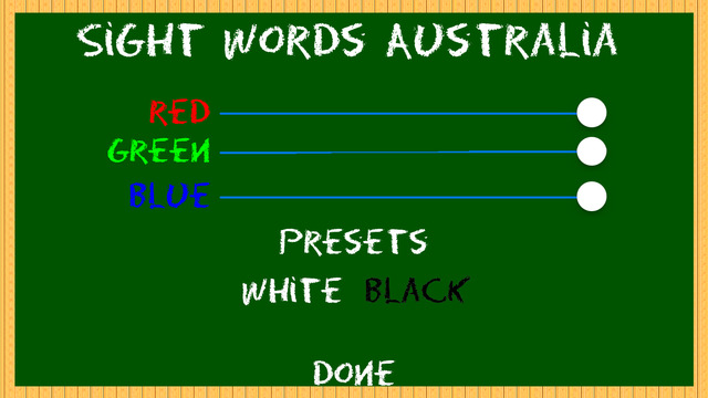Sight Words Australia Home Edition VIC/WA/NT for iPhone | Apps
