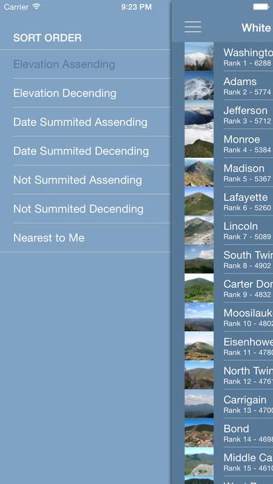 white mountains on the app store