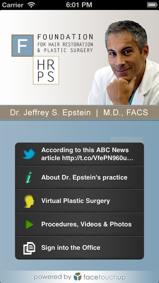 Dr. Jeffrey Epstein - Top Facial Plastic Hair Restoration Surgeon in Miami
