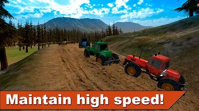 Farming Tractor Racing 3D Full screenshot 3