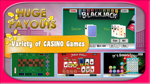 Top Spin Casino - Poker Blackjack Slots and More for the Master Gamblers
