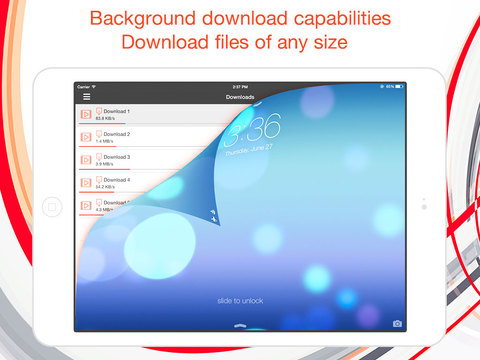 how to download files to ipad from internet
