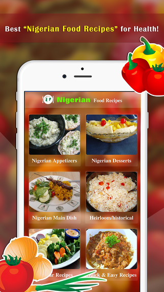 Nigerian Food Recipes - Best Foods For Health