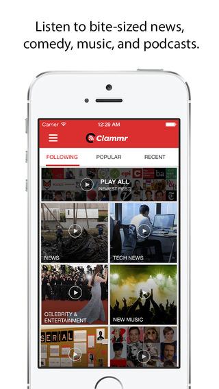 Clammr Radio - Headline News Music Podcasts