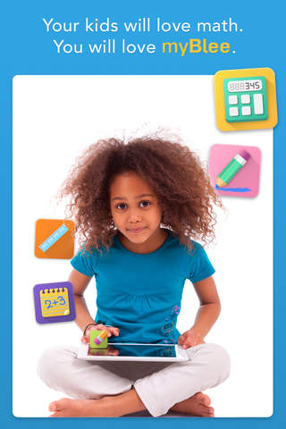 Screenshot 1 myBlee Math | Elementary Maths K-6 for Kindergarten,  1st,  2nd,  3rd,  4th,  5th & 6th grade in French,  English and Spanish aligned with Common Core State Standard