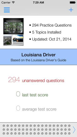 Louisiana DMV Test Prep