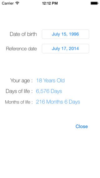 Age Calculator Life Days