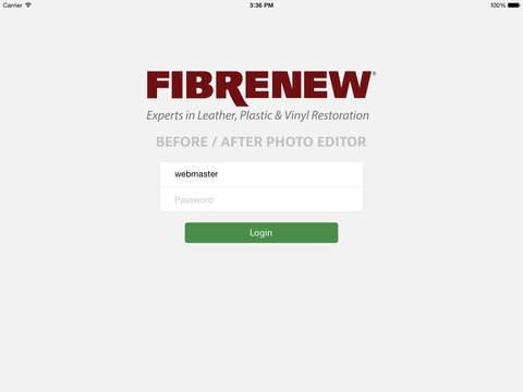 Fibrenew Photo Editor