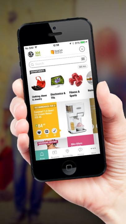 ShopYourWay - iPhone Mobile Analytics and App Store Data