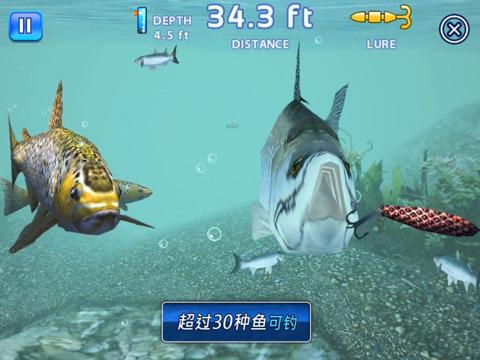 【Gameloft出品钓鱼游戏】垂钓之王