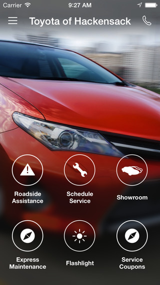 Toyota of Hackensack DealerApp